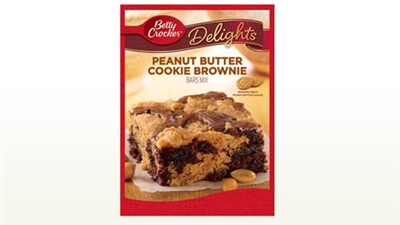 Betty Crocker Peanut Butter Brownie Bar Mix
