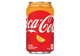 Can - ORANGE Vanilla Coke [24]