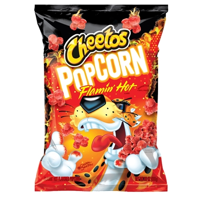 Cheetos POPCORN Flamin' HOT (Made in the USA)