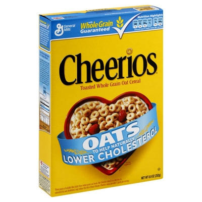 Cereal Box - General Mills Cheerios Cereal [14]