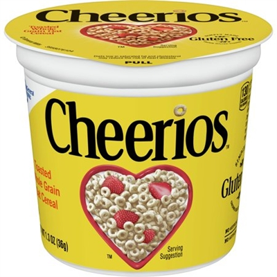 Cereal Cup - General Mills Cheerios Cereal [6]
