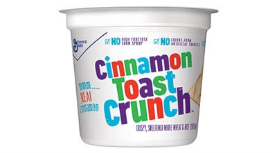 Cereal Cup - General Mills Cinnamon Toast Crunch [6]
