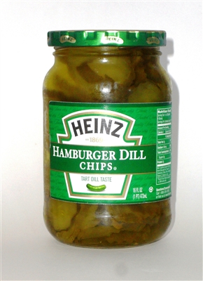 Heinz Hamburger Dill Chips [12]