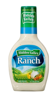 Hidden Valley Original Ranch Dressing BOTTLE (small) [12]