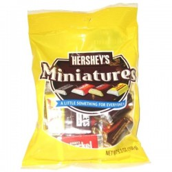 Hersheys Chocolate Miniatures