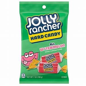 Jolly Rancher Hard Candy Peg ALL WATERMELON BAG [12]