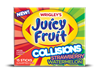 Juicy Fruit Collisions Gum Strawberry Watermelon Gum