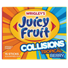Juicy Fruit Collisions Gum Tropical Berry Gum [10]