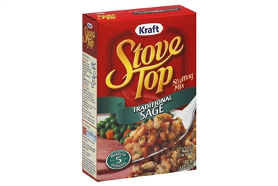 Kraft Stove Top Stuffing (Traditional Sage)