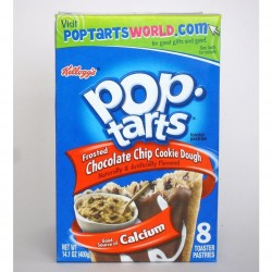 Kelloggs Pop-Tarts Chocolate Chip Cookie Dough