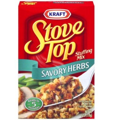 Kraft Stove Top Stuffing Savory Herb