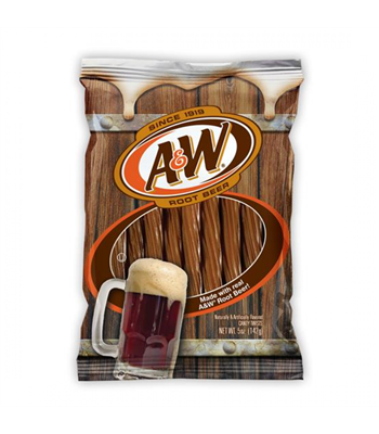 Kennys A&W Root Beer Flavoured Juicy TWISTS
