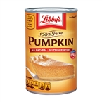 Pumpkin Puree - Libbys Natural Pumpkin [24]