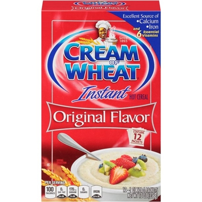 Nabisco Cream of Wheat Instant (sachets)