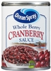Ocean Spray WHOLE BERRY Cranberry Sauce [24]