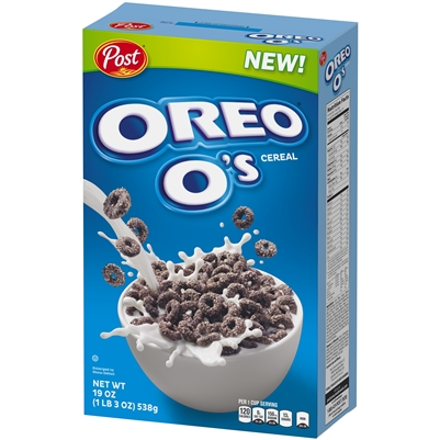 Cereal Box - Post Oreo Os - CLEARANCE