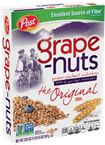Cereal Box POST Grape-Nuts