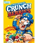 Cereal Box Quaker Cap N Crunch with Crunch Berries