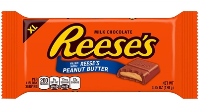 Reeses XL Peanut Butter Squares Bar [24]
