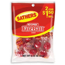 Sathers Atomic Fireball