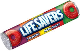 Life Savers Hard Candy - 5 Flavour Roll [20]