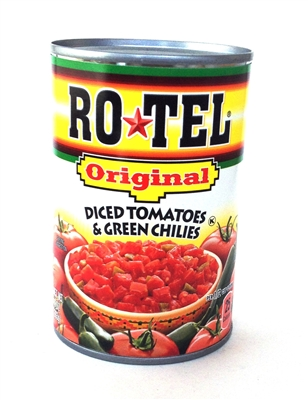 Ro-Tel Original Diced Tomatoes & Green Chilies [12]