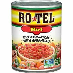 Ro-Tel HOT Diced Tomatoes & Green Chilies