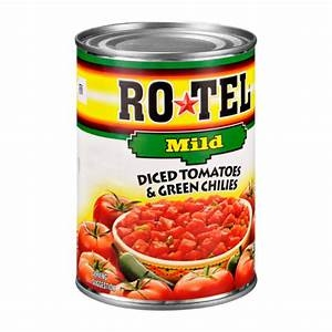 Ro-Tel MILD Diced Tomatoes & Green Chilies