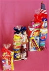 D.I.Y. American Goodie Cellophane Gift Bag with Ribbon