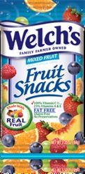 Welch's fruit snack mixed fruit 24 pack