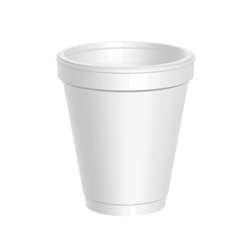 Dart 8 oz Foam Cups