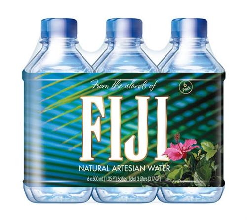 24 Pack FIJI Bottled Water 16.9 Ounce