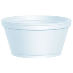 Soup Bowls - Foam - 8 ounce