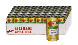 48 pack apple juice cans