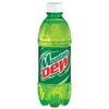 Mountain Dew Citrus Bottles