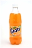 Fanta Orange Soda Bottles
