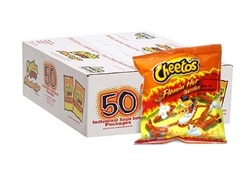 50 pack flamin hot cheetos
