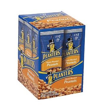 oz roasted on planters planter tube honey peanuts prices slash packs shop