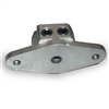 Plastic head and mounting flange Mount-demount heads