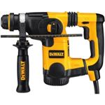 "DWTD25323K 1"" L-Shape SDS Plus Rotary Hammer Kit with SHOCKS"