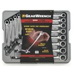 KDT85888 12PC METRIC X BEAM RATCHETING COMBO WRENCH SET