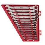 MLW48-22-9416 15pc Ratcheting Combination Wrench Set - SAE