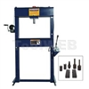 Omega-25 ton press w/accessory kit
