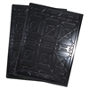 Drip Trays (Set of 2) Polypropylene Drip Trays for Four-Post Car Lifts