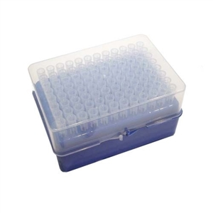 1-250ul Graduated Extended Length Filtered Universal Pipette Tip, Hinge-Rack, Sterile (Case 960)