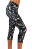 Women's Fitness Capris - Intergalactic