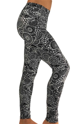 Women's Fitness Leggings - Henna
