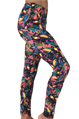 Parrot Paradise Leggings