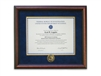 Cherry Certificate Frame with Session Coin