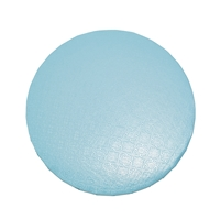 "16"" ROUND CAKE DRUM  - GLOSS TIFFANY BLUE"